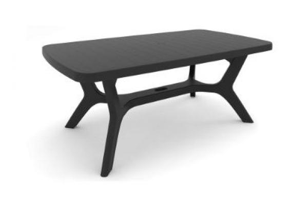 Baltimore garden table graphite