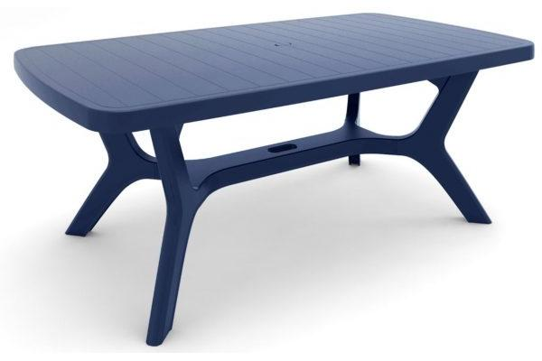 Baltimore table de jardin Bleue