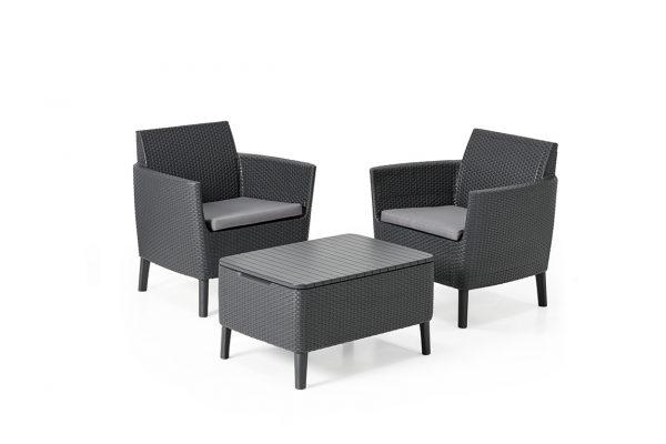 Salemo Duo Set Graphite