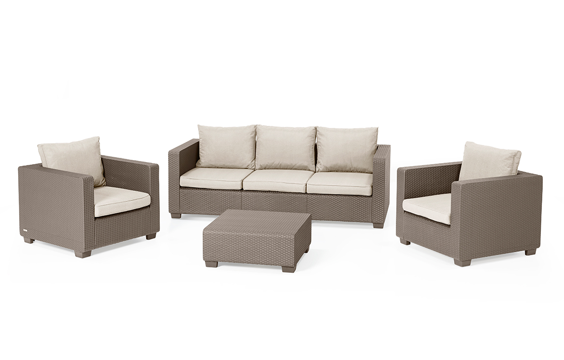 Loungemöbel | Lounge-Gartenmöbel | Lounge Sets - Allibert