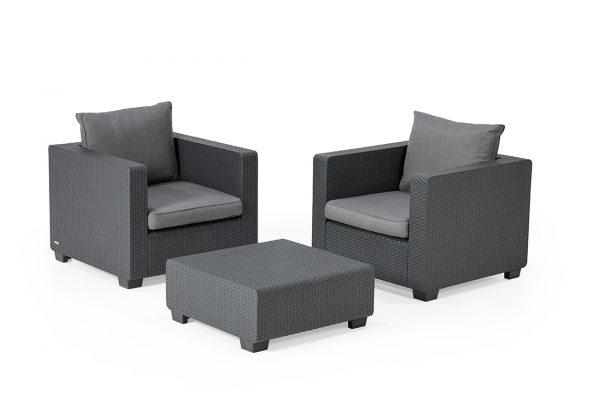 Salta Duo Set Graphite