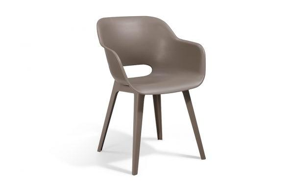 Akola Dining Chair Cappuccino