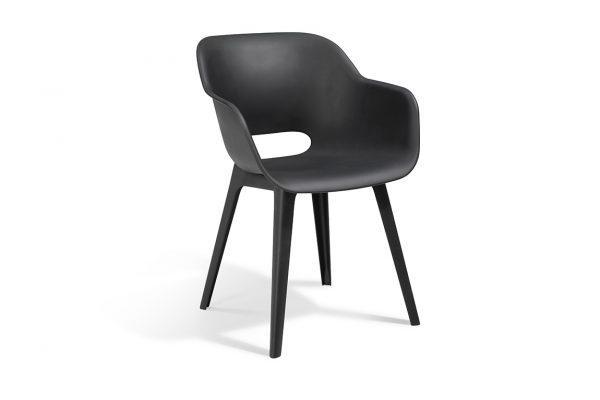 Akola Dining Chair Graphite